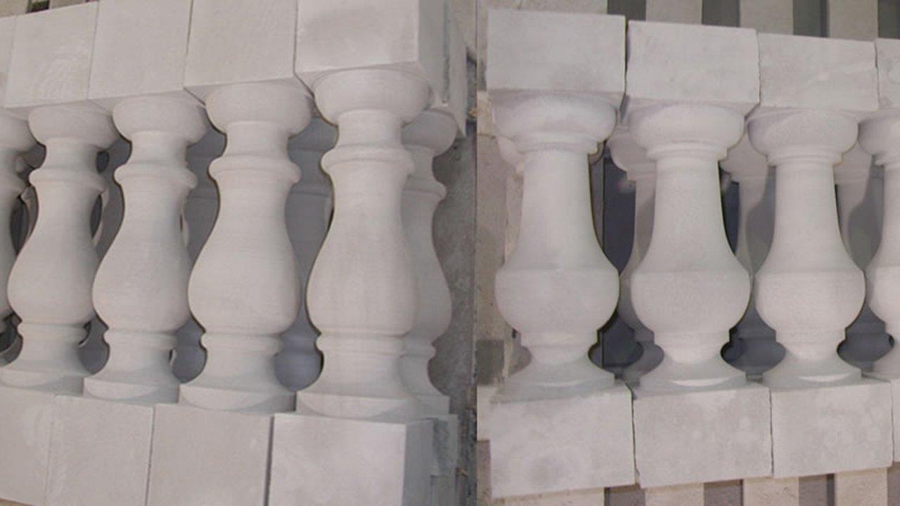 Limestone Balusters