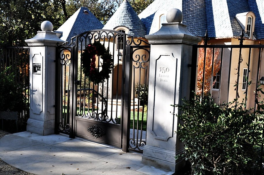 Limestone Front Gate