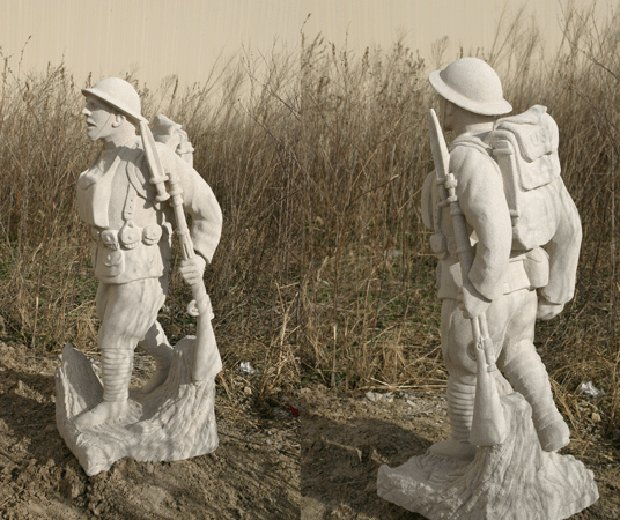 Limestone Soldiers