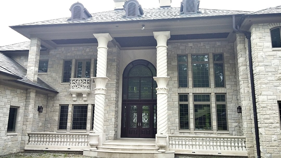 Limestone Columns, Capitals, Balusters