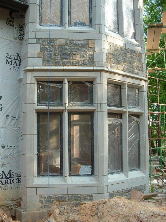 Limestone Window Surrounds and Keystones