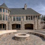Limestone House - Back Fire Ring
