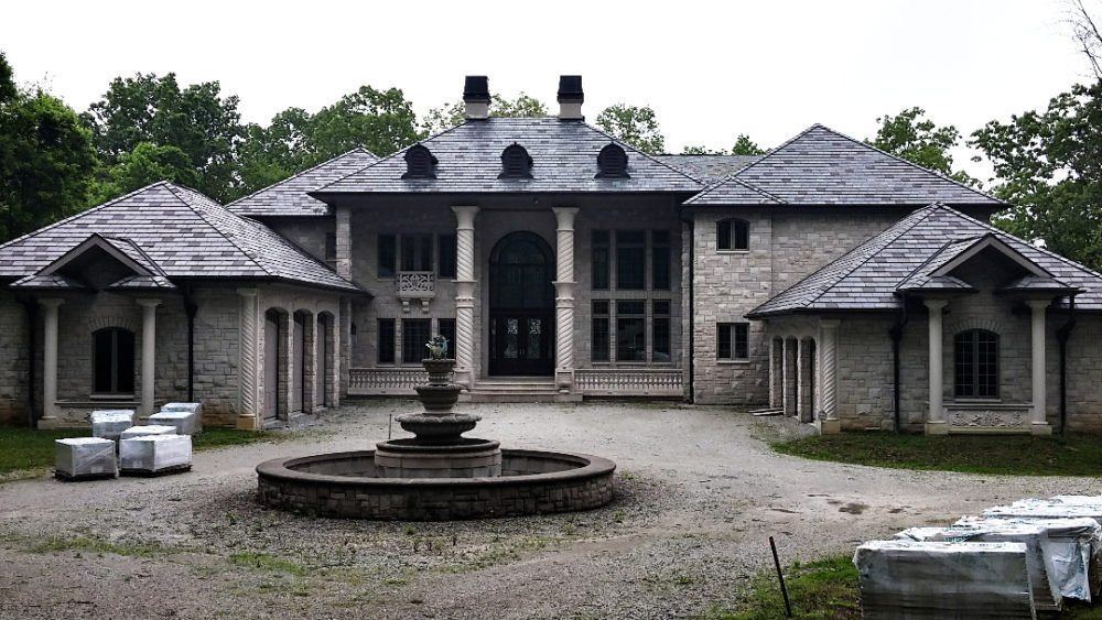 Residential Limestone Home