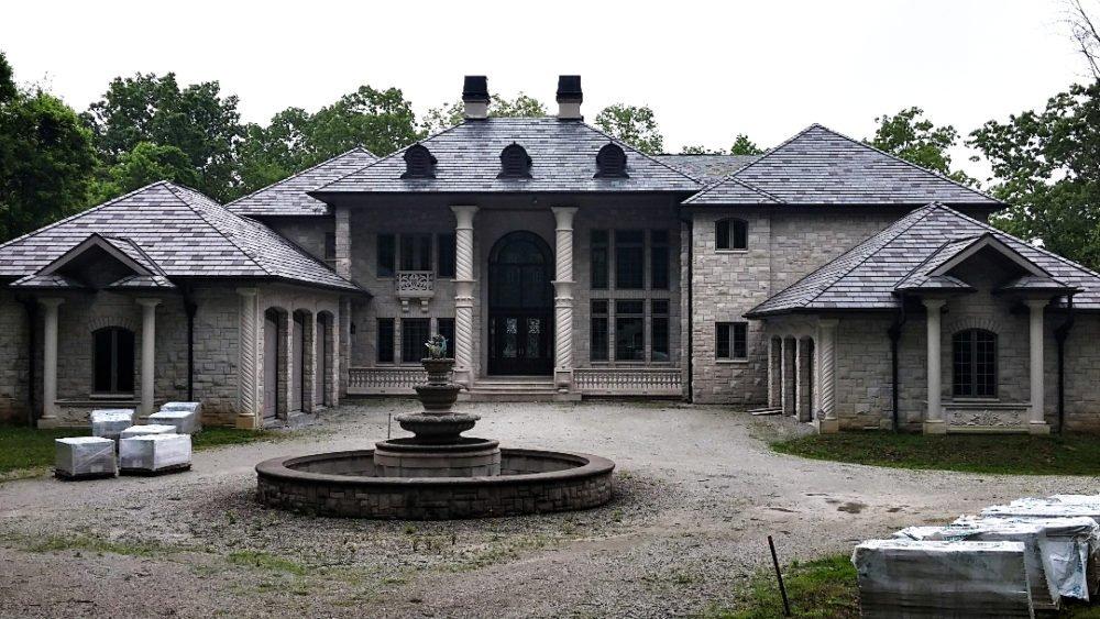Residential Limestone Home